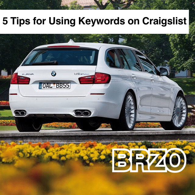 5-Tips on How to Use Keywords for Craigslist (#4 Will Amaze You)