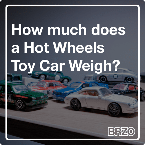How much does a Hot Wheels Toy Car Weigh?